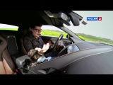 Автомобиль Jaguar F-Type (Ягуар Ф-Тайп). Видео тест-драйв